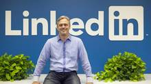 LinkedIn's Canadian head Brian Church. 'Our focus is specifically on the professional world, and helping people become more productive and successful in that world, and in engaging their professional networks.' (Deborah Baic/The Globe and Mail)