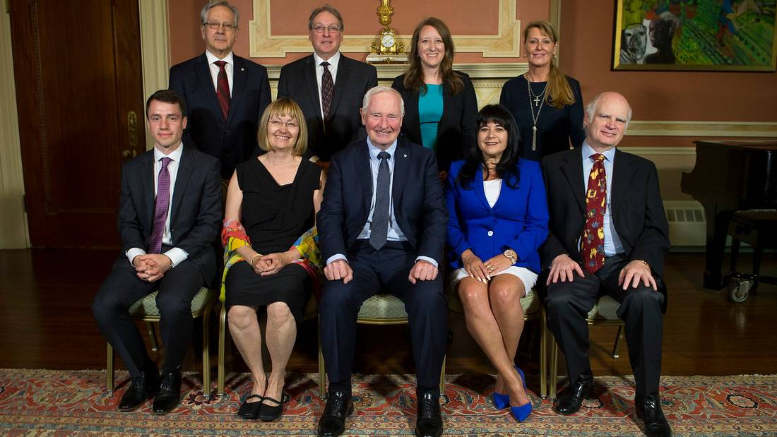 David Johnston, Governor General of Canada, presided over the second annual presentation ceremony of the Governor-General's Innovation Awards on Tuesday, May 23, 2017, at Rideau Hall.