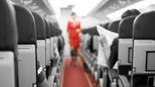 Airplane interior. (iStockphoto / Thinkstock)