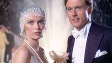 "Mia Farrow and Robert Redford in ""The Great Gatsby"" (Newdon Company)"