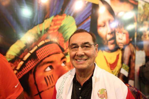 Cree Chief Wilton Littlechild is one of the originators of the idea of the World Indigenous Games.