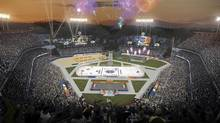 NHL Unveils Architectural Rendering of 2014 Coors Light NHL Stadium Series Outdoor Game at Dodger Stadium