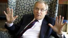 Jeffrey Archer on a visit to Toronto in 2008 (Tibor Kolley/The Globe and Mail)