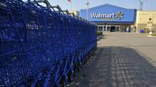 A Wal-Mart Canada store in Mississauga, Ont. (J.P. MOCZULSKI For The Globe and Mail)