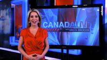Screen grab of Krista Erickson from a Sun News promotional video
