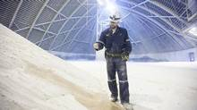 A Potash Corp. storage facility near Saskatoon, Sask. (DAVID STOBBE/REUTERS)