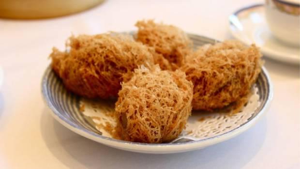 Wu gok (taro dumplings)