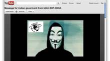 Ascreenshot of a Youtube message posted by BDHH , the Bangladesh BlackHat Hackers.