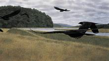 Seven Crows (1980). (ALEX COLVILLE/AC FINE ARTS)