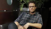 Actor Seth Rogen at the Intercontinental Hotel during TIFF 2011, Toronto September 10, 2011. (Fernando Morales/The Globe and Mail)
