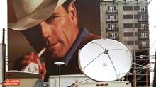 For Marlboro, the visual hammer is the cowboy, nailing home the fact that the cigarette was marketed as a masculine brand. (Robb Williamson/REUTERS)