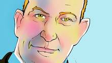 Illustration of Douglas Melville, Ombudsman for Banking Services and Investments. (Anthony Jenkins/The Globe and Mail/Anthony Jenkins/The Globe and Mail)