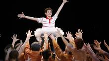 Billy Elliot features a song entitled Merry Christmas Maggie Thatcher, which references the former prime minister's imagined death. (STUART RAMSON/AP)