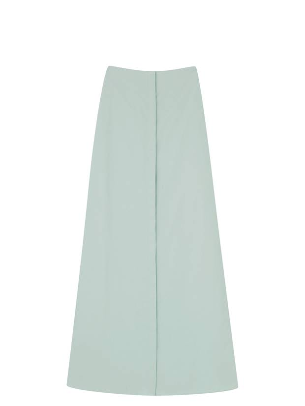 Elongated cotton skirt, $125 at COS (cosstores.com).