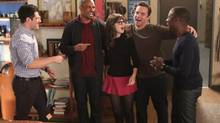 Damon Wayans Jr., left, and Lamorne Morris, right, in a scene from New Girl. (Adam Taylor/Fox)