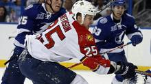 Florida Panthers' centre Jerred Smithson (Associated Press)