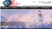 Screen grab from PFG Canada's website.