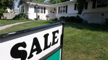 File photo of an existing home for sale in Springfield, Ill. (Seth Perlman/AP)