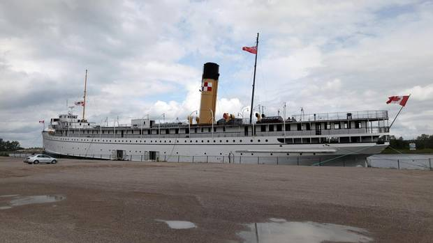 The SS Keewatin came home to Canada this summer, more than 100 years after it began steaming across the Great Lakes. Launched on July 6, 1907, at the height of the Edwardian era, it is the last surviving Canadian Pacific wooden cabin steamship. (Charla Jones for The Globe and Mail)