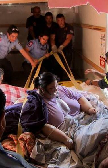 REALITY Half-Ton Killer (TLC, 7 p.m.) Every so often, TLC steps away from the reality-TV genre to tell a story torn from the headlines. This special recalls the strange case of Texas native Mayra Rosales, whose weight of 1100 pounds ranks her one of the heaviest people in the world. A few years ago, Mayra confessed to killing her two-year-old nephew by sitting on him and crushing him to death. The official police report, however, showed the child died of a blow to the head. At Mayra's ensuing murder trial, the police had to remove the walls of her bedroom to transport her, and then widen the walls of the courtroom to accommodate her. The key to Mayra's defense: She couldn't have raised her hand to hit the kid, because her arms are too heavy to lift. TLC follows the show with the specials World's Heaviest Man and 600 Pound Mom.