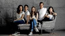 From left, Cara Ricketts, Kevin Yee, Amy Wallis, Tyrone Savage and Jennifer Rider-Shaw. (Moe Doiron/Moe Doiron / The Globe and Mail)