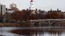 Harvard University is being criticized by faculty for searching the e-mail of 16 deans. (JESSICA RINALDI/Reuters)