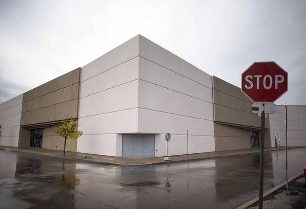 A former Sears location at Toronto's Woodbine Centre is shown on Oct. 11, 2017.
