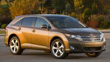 The 2010 Toyota Venza requires 20-inch wheels (Toyota)