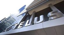 File photo of a Telus store in downtown Toronto. (Gloria Nieto for The Globe and Mail)