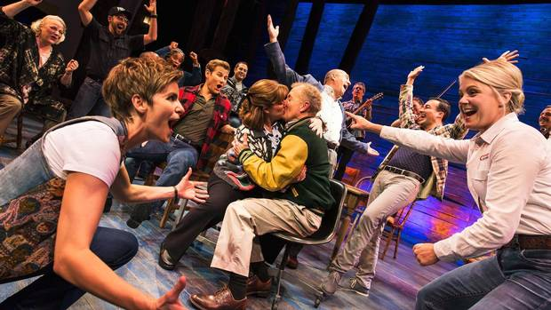 Canadian musical Come From Away scored critical raves in its official Broadway debut.