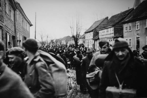 German forces had ordered the marches to keep the Allied soldiers from being liberated by the Russians, who by 1944 were quickly advancing into German-held territory from the east.