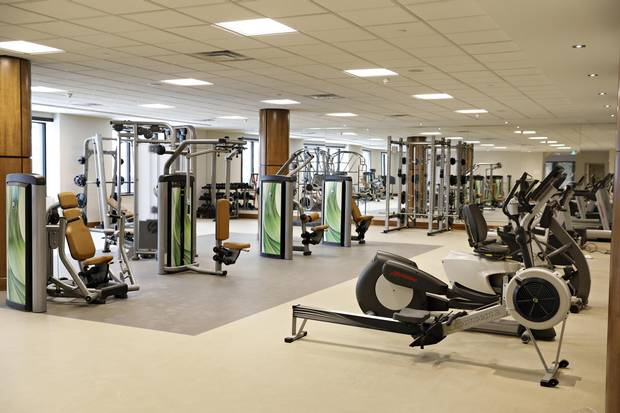 Well-appointed fitness rooms were once the domain of condo buildings, but a growing number of apartment rentals, such as Les Terraces Francesca, are adding this and other amenities.