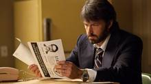 Ben Affleck stars in Argo.