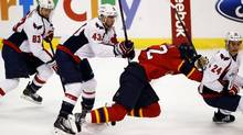 The NHL announced on Thursday that Washington Capitals right wing Tom Wilson will not be suspended for his hit on Philadelphia Flyers Brayden Schenn. (file Photo) (ROBERT MAYER/USA TODAY SPORTS)