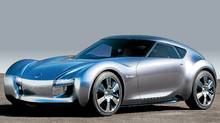 Nissan is considering an electric sports car similar to the Esflow concept. (NISSAN)
