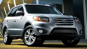 The Hyundai Santa Fe