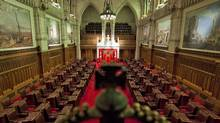 A view of the Senate chamber on Parliament Hill in Ottawa on Thursday Jan. 13, 2011. (Sean Kilpatrick/The Canadian Press)