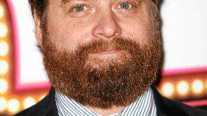 Comedian Zach Galifianakis