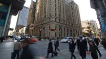 Bay Street in Toronto, Ontario is seen here Thursday Feb. 9, 2012. (Tim Fraser For The Globe and Mail)