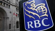 A Royal Bank of Canada (RBC) logo is seen at a branch in Toronto. (© Mark Blinch / Reuters/Mark Blinch /REUTERS)