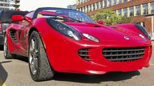 Lotus Elise. (Danielle Boudreau/The Globe and Mail)