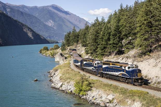 Rocky Mountaineer rail-tour company offers Western Canadian vacation packages that include four rail routes through British Columbia, Alberta, and the U.S. state of Washington.