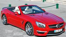 2013 Mercedces-Benz SL63 AMG (Michael Bettencourt/Michael Bettencourt)