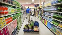 Grocery prices are expected to stabilize, as the commodities used to produce and transport them, also decline in price. (Paul Taggart/Bloomberg News/Paul Taggart/Bloomberg News)
