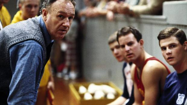 1. Hoosiers (1986): The undisputed champion of underdog sagas charts the fortunes of small-town Hickory High School's basketball team in 1950s' Indiana. By the end, you'll be convinced that God wants you on the floor. (Everett Collection)