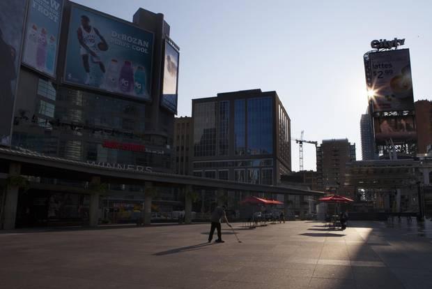 Yonge/Dundas Square in Toronto