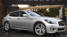 2011 Infiniti M: As Infiniti launches its new flagship, the mid-size luxury car market in Canada has never been more competitive (Nissan)