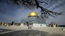 The Dome of the Rock on the compound known to Muslims as al-Haram al-Sharif, and to Jews as Temple Mount in Jerusalem's Old City. (AMMAR AWAD/AMMAR AWAD/REUTERS)