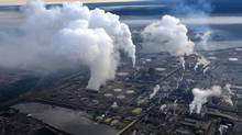 Syncrude's oil sands up-grader facility located north of Fort McMurray, Alberta is seen in an aerial photograph Aug. 31/2010 (Kevin Van Paassen/The Globe and Mail)