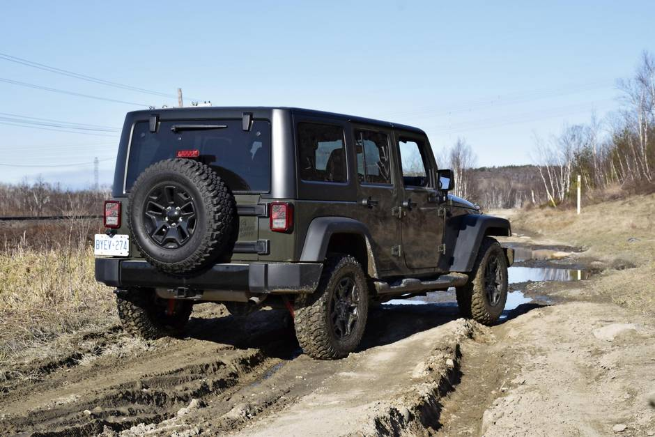 Review Review 2016 Jeep Willys Wheeler Is A Lower Cost Alternative For Adventure The Globe And Mail